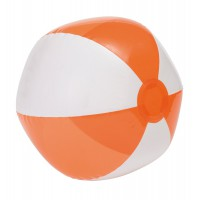 "Strandball 15, Orange/Weiß ""Ocean"""